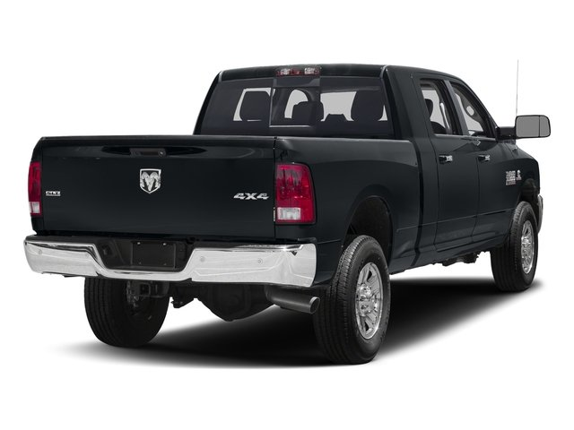 Maximum Steel Metallic Clearcoat 2017 Ram Truck 3500 Pictures 3500 SLT 4x2 Mega Cab 6'4 Box photos rear view