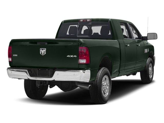 Black Forest Green Pearlcoat 2017 Ram Truck 3500 Pictures 3500 Mega Cab SLT 4WD photos rear view