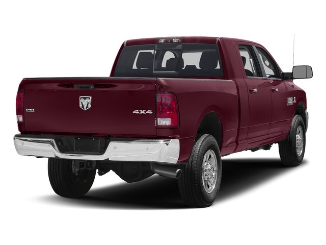 Delmonico Red Pearlcoat 2017 Ram Truck 3500 Pictures 3500 Mega Cab SLT 4WD photos rear view