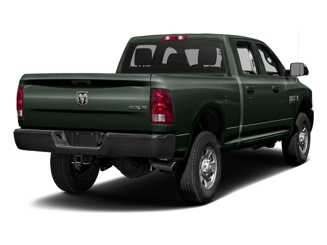 Black Forest Green Pearlcoat 2017 Ram Truck 3500 Pictures 3500 Crew Cab Tradesman 4WD photos rear view