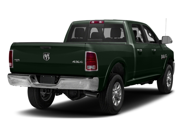 Black Forest Green Pearlcoat 2017 Ram Truck 3500 Pictures 3500 Crew Cab Laramie 4WD photos rear view