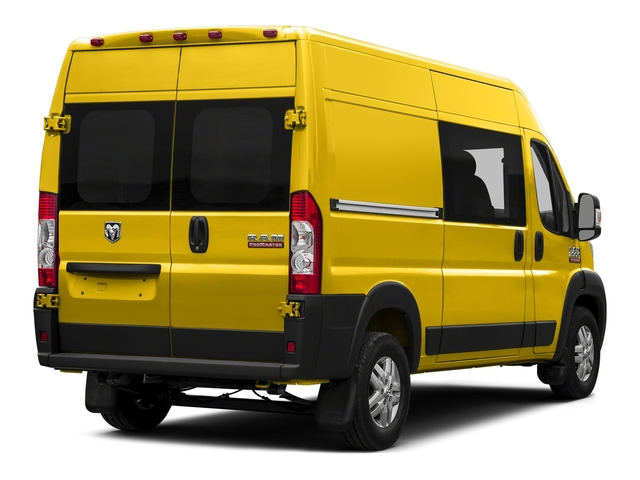 Broom Yellow Clearcoat 2017 Ram Truck ProMaster Cargo Van Pictures ProMaster Cargo Van 2500 High Roof 136 WB photos rear view