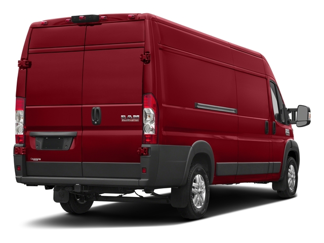 Flame Red Clearcoat 2017 Ram Truck ProMaster Cargo Van Pictures ProMaster Cargo Van 3500 High Roof 159 WB EXT photos rear view