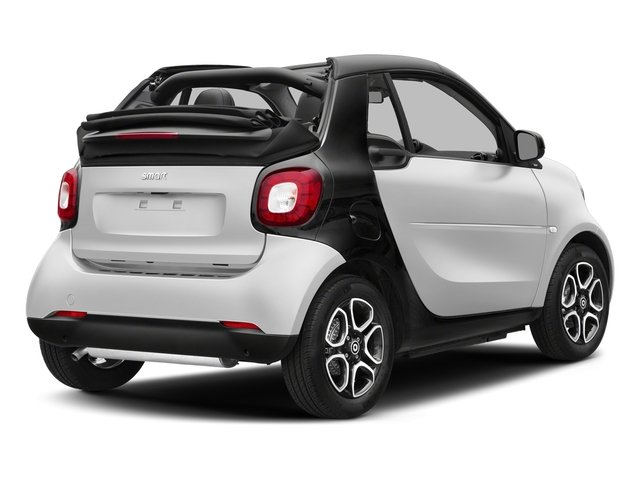 White 2017 smart fortwo Pictures fortwo Convertible 2D Prime I3 Turbo photos rear view