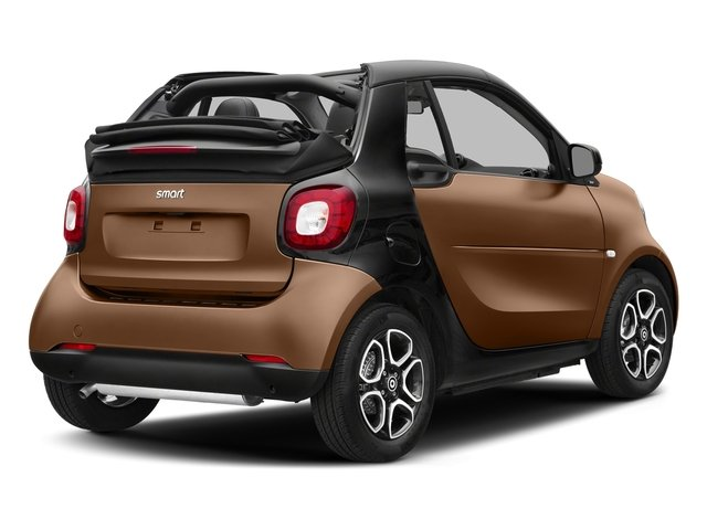 Hazel Brown Metallic 2017 smart fortwo Pictures fortwo Convertible 2D Prime I3 Turbo photos rear view