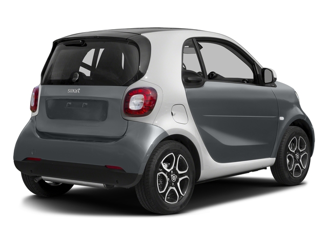 Titania Grey Matte 2017 smart fortwo Pictures fortwo Coupe 2D Proxy I3 Turbo photos rear view