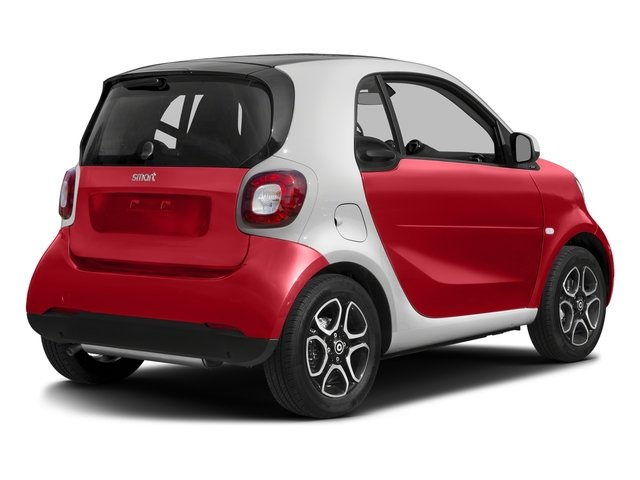 Red 2017 smart fortwo Pictures fortwo Coupe 2D Proxy I3 Turbo photos rear view
