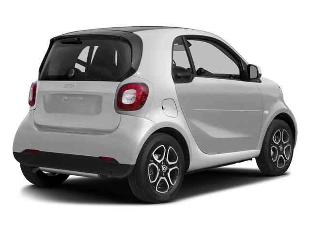 Cool Silver Metallic 2017 smart fortwo Pictures fortwo Coupe 2D Proxy I3 Turbo photos rear view