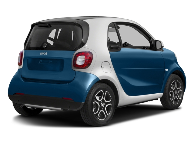 Midnight Blue Metallic 2017 smart fortwo Pictures fortwo Coupe 2D Proxy I3 Turbo photos rear view