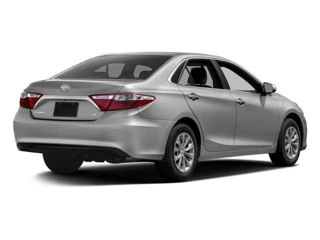 Celestial Silver Metallic 2017 Toyota Camry Pictures Camry Sedan 4D XLE I4 photos rear view