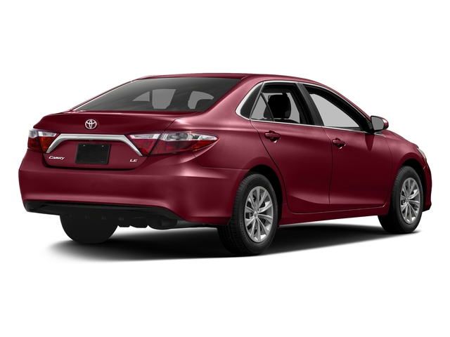 Ruby Flare Pearl 2017 Toyota Camry Pictures Camry Sedan 4D XLE I4 photos rear view