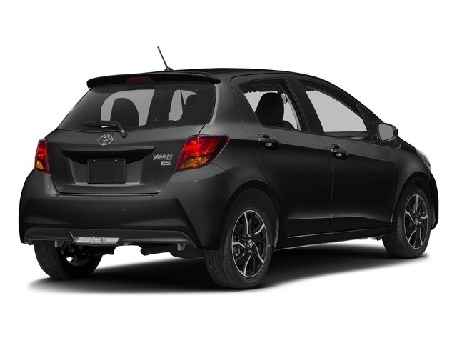 Black Sand Pearl 2017 Toyota Yaris Pictures Yaris Hatchback 5D SE I4 photos rear view