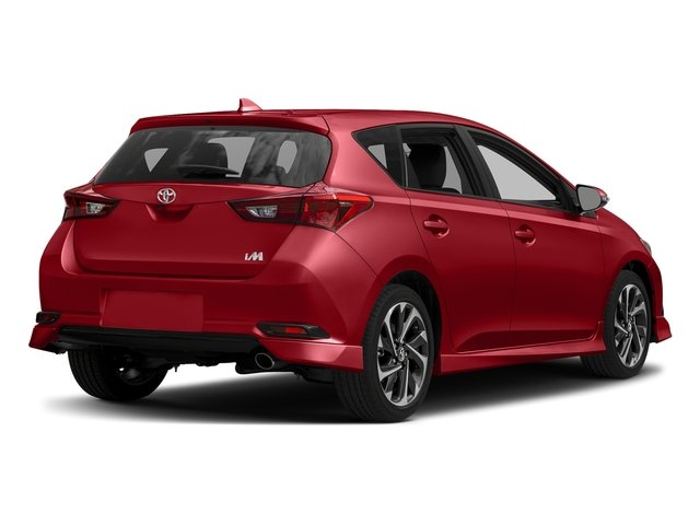 Barcelona Red Metallic 2017 Toyota Corolla iM Pictures Corolla iM Hatchback 5D photos rear view