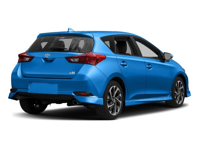 Electric Storm Blue 2017 Toyota Corolla iM Pictures Corolla iM Hatchback 5D photos rear view