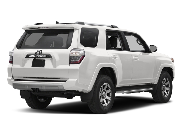 Super White 2017 Toyota 4Runner Pictures 4Runner Utility 4D TRD Off-Road 4WD V6 photos rear view