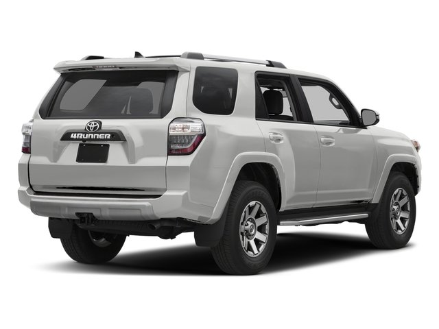 Classic Silver Metallic 2017 Toyota 4Runner Pictures 4Runner Utility 4D TRD Off-Road 4WD V6 photos rear view
