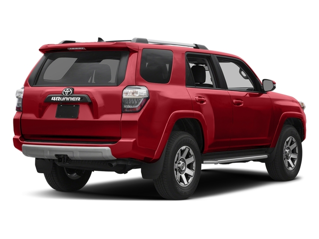 Barcelona Red Metallic 2017 Toyota 4Runner Pictures 4Runner Utility 4D TRD Off-Road 4WD V6 photos rear view