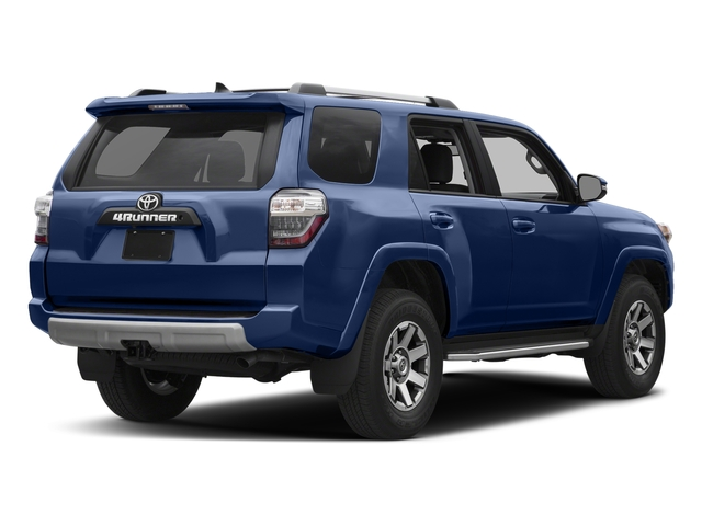 Nautical Blue Metallic 2017 Toyota 4Runner Pictures 4Runner Utility 4D TRD Off-Road 4WD V6 photos rear view
