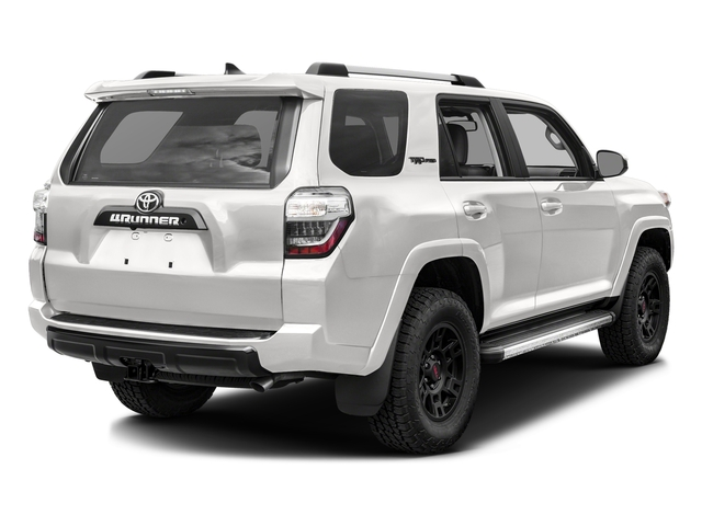 Super White 2017 Toyota 4Runner Pictures 4Runner Utility 4D TRD Pro 4WD V6 photos rear view