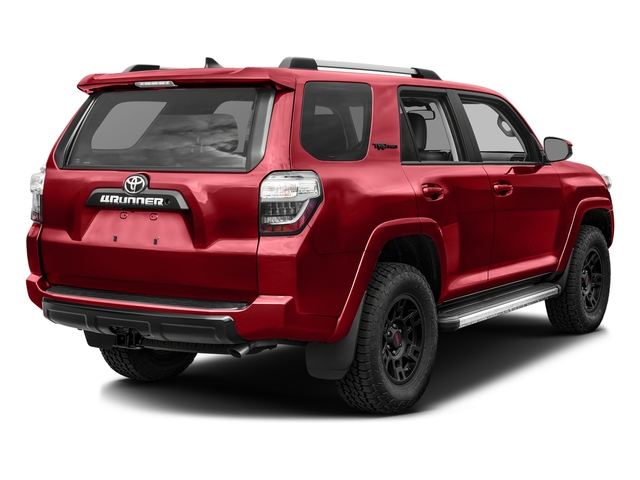 Barcelona Red Metallic 2017 Toyota 4Runner Pictures 4Runner Utility 4D TRD Pro 4WD V6 photos rear view