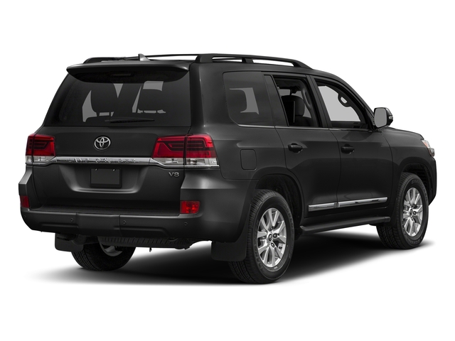 Magnetic Gray Metallic 2017 Toyota Land Cruiser Pictures Land Cruiser Utility 4D 4WD V8 photos rear view