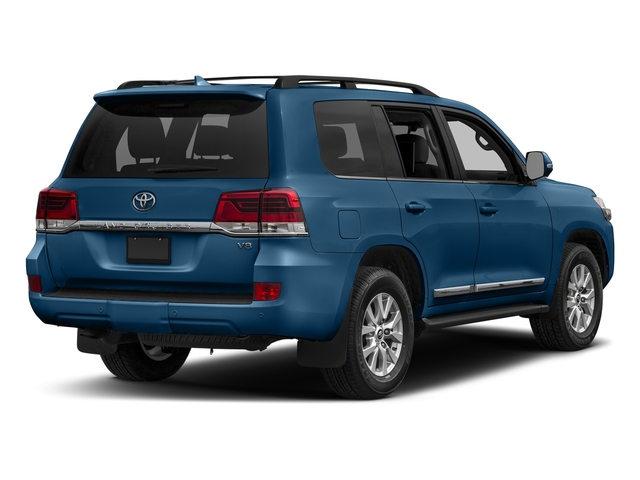 Blue Onyx Pearl 2017 Toyota Land Cruiser Pictures Land Cruiser Utility 4D 4WD V8 photos rear view