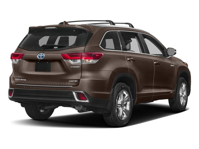 Toasted Walnut Pearl 2017 Toyota Highlander Pictures Highlander Utility 4D LE 4WD V6 Hybrid photos rear view