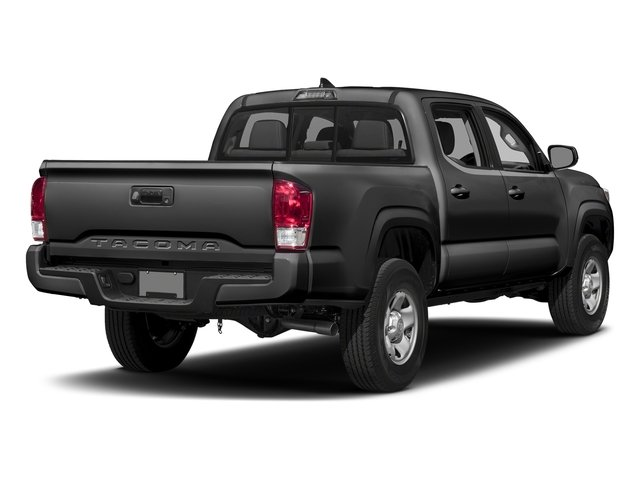 Magnetic Gray Metallic 2017 Toyota Tacoma Pictures Tacoma SR Crew Cab 4WD V6 photos rear view