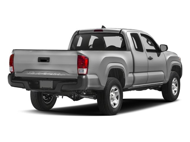 Silver Sky Metallic 2017 Toyota Tacoma Pictures Tacoma SR Extended Cab 2WD V6 photos rear view