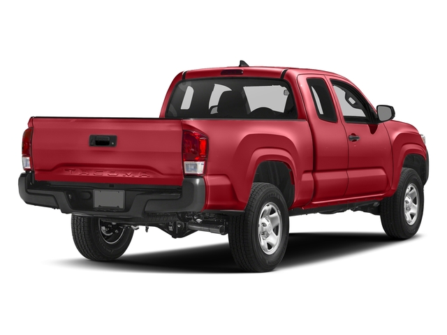 Barcelona Red Metallic 2017 Toyota Tacoma Pictures Tacoma SR Extended Cab 2WD V6 photos rear view