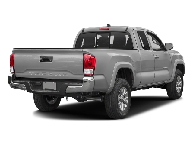 Silver Sky Metallic 2017 Toyota Tacoma Pictures Tacoma SR5 Extended Cab 2WD V6 photos rear view