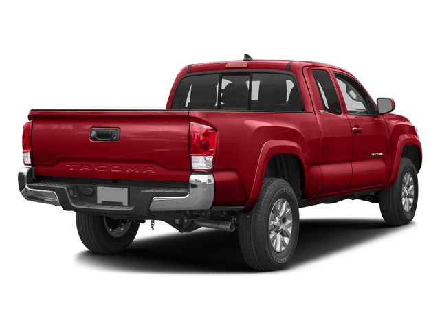 Barcelona Red Metallic 2017 Toyota Tacoma Pictures Tacoma SR5 Extended Cab 2WD V6 photos rear view