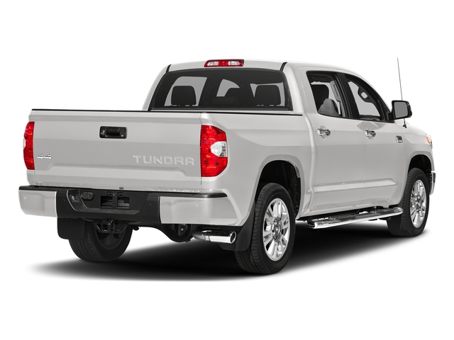 Super White 2017 Toyota Tundra 2WD Pictures Tundra 2WD 1794 Edition CrewMax 2WD photos rear view