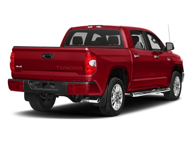 Barcelona Red Metallic 2017 Toyota Tundra 2WD Pictures Tundra 2WD 1794 Edition CrewMax 2WD photos rear view