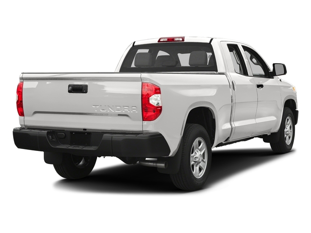 Super White 2017 Toyota Tundra 2WD Pictures Tundra 2WD SR Double Cab 2WD photos rear view