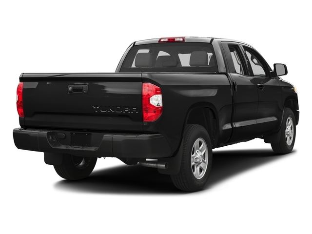 Black 2017 Toyota Tundra 2WD Pictures Tundra 2WD SR Double Cab 2WD photos rear view