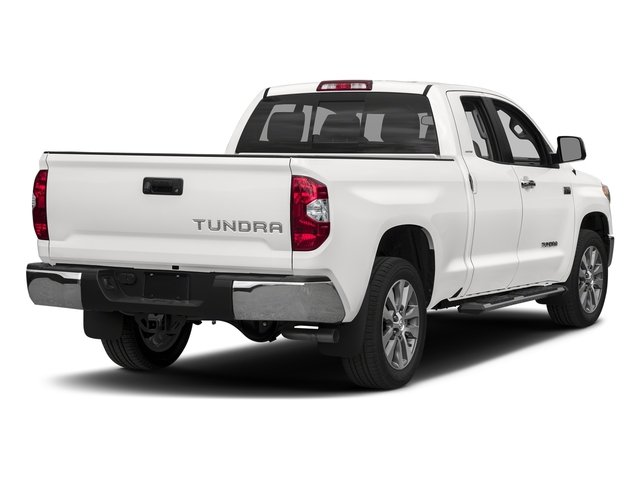 Super White 2017 Toyota Tundra 2WD Pictures Tundra 2WD Limited Double Cab 2WD photos rear view