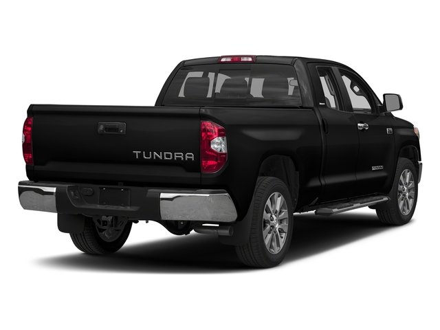 Midnight Black Metallic 2017 Toyota Tundra 2WD Pictures Tundra 2WD Limited Double Cab 2WD photos rear view