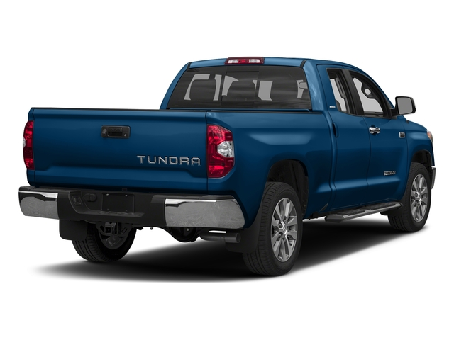 Blazing Blue Pearl 2017 Toyota Tundra 2WD Pictures Tundra 2WD Limited Double Cab 2WD photos rear view