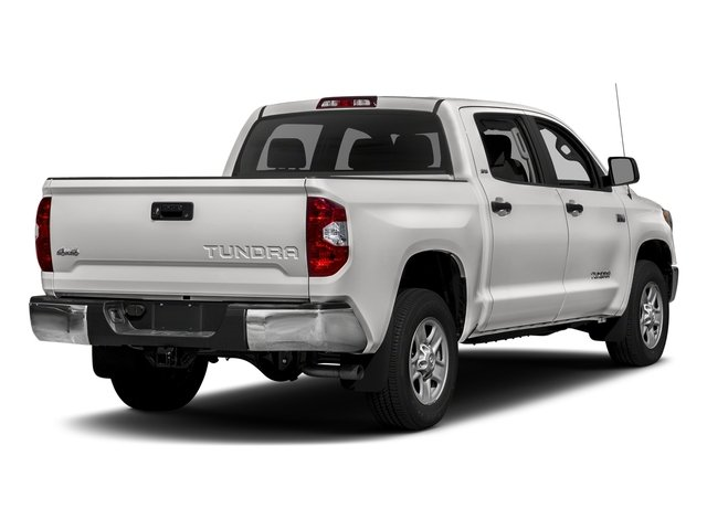 Super White 2017 Toyota Tundra 4WD Pictures Tundra 4WD SR5 CrewMax 4WD photos rear view