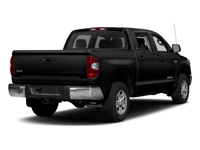 Black 2017 Toyota Tundra 2WD Pictures Tundra 2WD SR5 CrewMax 2WD photos rear view