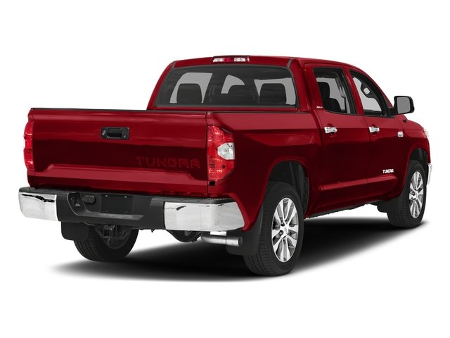 Barcelona Red Metallic 2017 Toyota Tundra 4WD Pictures Tundra 4WD Limited CrewMax 4WD photos rear view