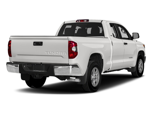 Super White 2017 Toyota Tundra 2WD Pictures Tundra 2WD SR5 Double Cab 2WD photos rear view