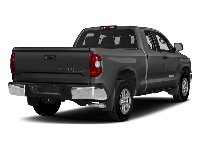 Magnetic Gray Metallic 2017 Toyota Tundra 2WD Pictures Tundra 2WD SR5 Double Cab 2WD photos rear view