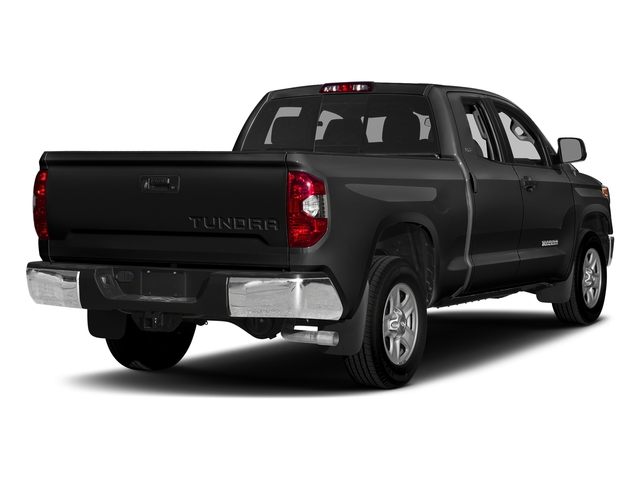 Black 2017 Toyota Tundra 2WD Pictures Tundra 2WD SR5 Double Cab 2WD photos rear view