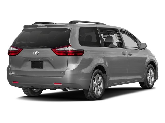 Silver Sky Metallic 2017 Toyota Sienna Pictures Sienna Wagon 5D LE AWD V6 photos rear view