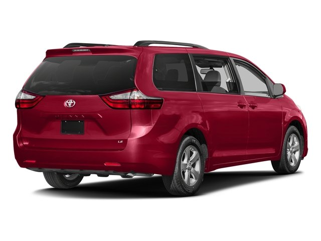 Salsa Red Pearl 2017 Toyota Sienna Pictures Sienna Wagon 5D LE AWD V6 photos rear view