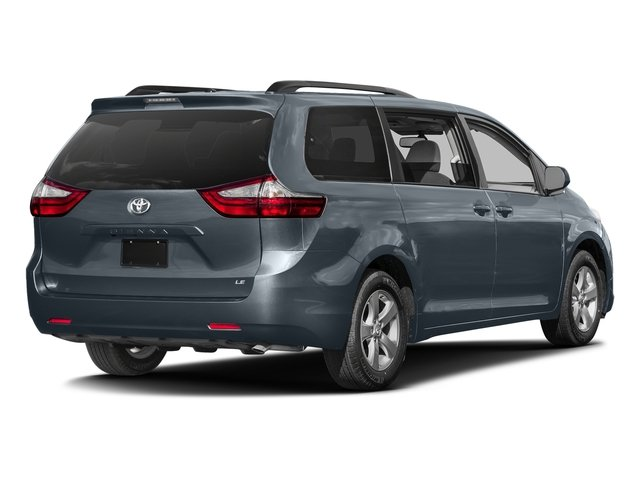 Shoreline Blue Pearl 2017 Toyota Sienna Pictures Sienna Wagon 5D LE AWD V6 photos rear view