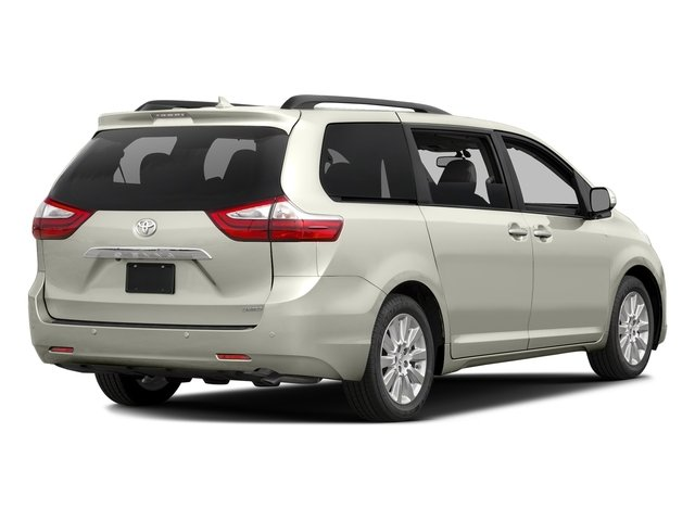Blizzard Pearl 2017 Toyota Sienna Pictures Sienna Wagon 5D XLE V6 photos rear view