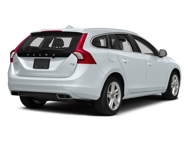 Ice White 2017 Volvo V60 Pictures V60 Wagon 4D T5 Platinum AWD Turbo photos rear view
